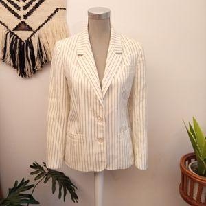 Vintage striped blazer size M/L